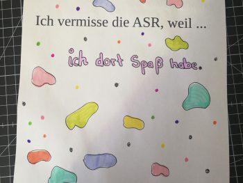 """Permalink auf:Aktion von und für Schüler*innen: """"Ich vermisse die ASR, weil…"""""""
